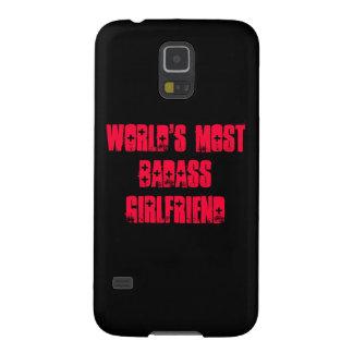 De namorada do Badass do mundo a maioria Capas Par Galaxy S5