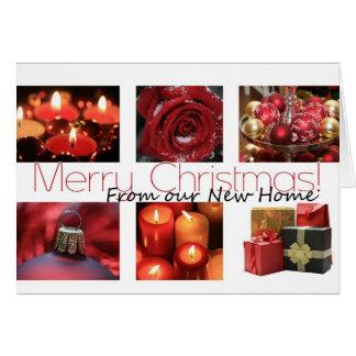 De nosso Feliz Natal Home novo Cartão Comemorativo