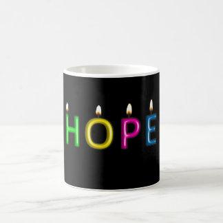 Dê o presente da caneca da esperança