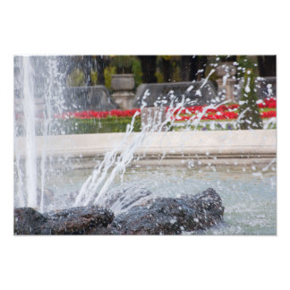 """De """"photoprints da fonte água"""" impressão de foto"""
