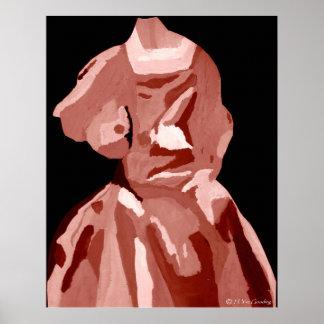 """De """"poster do vestido A. Boleyn Neutro"""" - customiz Poster"""