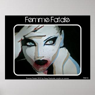 De poster Femme Fatale