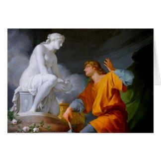 ~ de Pygmalión (mitologia grega - Galathea) Cartão Comemorativo