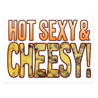 """De queijo azul """"sexy"""" quente cartão postal"""