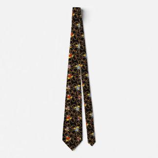 De repente laço dos pinguins (preto) gravata