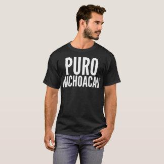 "De ""t-shirt da tipografia Puro Michoacan"" Camiseta"
