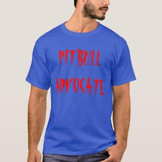 """De """"t-shirt do advogado Pitbull"""" Camiseta"""