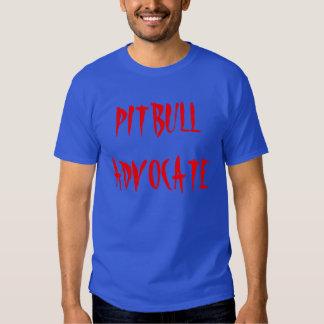 """De """"t-shirt do advogado Pitbull"""" Camisetas"""