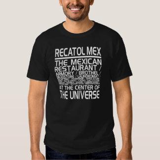 """De """"t-shirt Recatol Mex"""" Camiseta"""