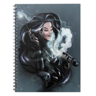 de volta ao livro da mágica da escola cadernos espiral