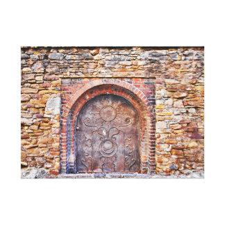 De volta às épocas medievais impressão em tela