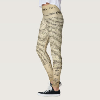 Declaração de independência leggings