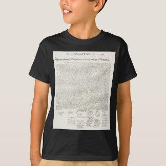 Declaração dos Estados Unidos de independência Camiseta