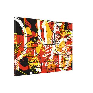decoração da abstracção das belas artes impressão em tela