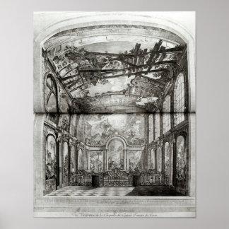Decoração da capela do hospício poster