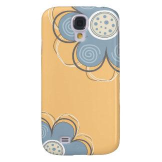 Decoração floral galaxy s4 covers