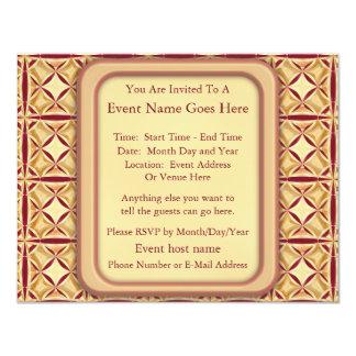 Decoração régia convite