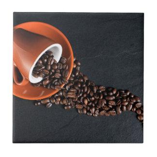 Decoração temático da casa do azulejo do café