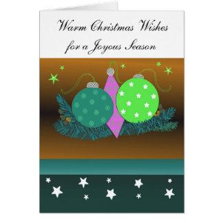 Decorações festivas do Natal Cartoes