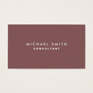 Decorador interior elegante liso profissional cartão de visitas