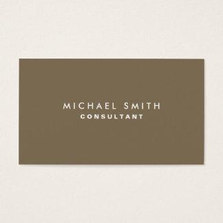 Decorador interior elegante verde profissional cartão de visitas