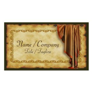 Decorater interior cartão de visita