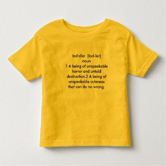 Decription da criança camiseta infantil