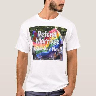 Defenda o casamento t-shirt