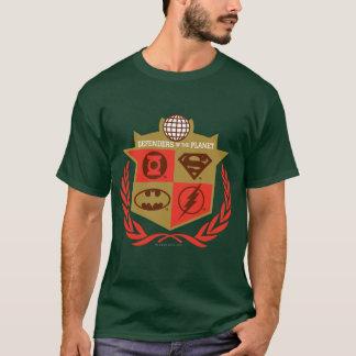 Defensores da liga de justiça do planeta camiseta