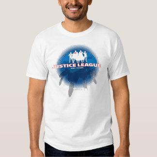 Defensores globais da liga de justiça t-shirts