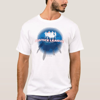 Defensores globais da liga de justiça tshirts