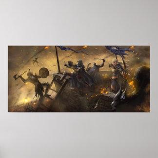 Defesa do castelo poster