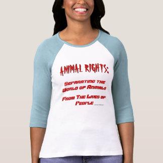 Definição dos direitos dos animais camiseta