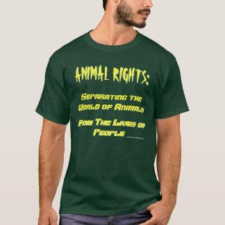 Definição dos direitos dos animais t-shirt