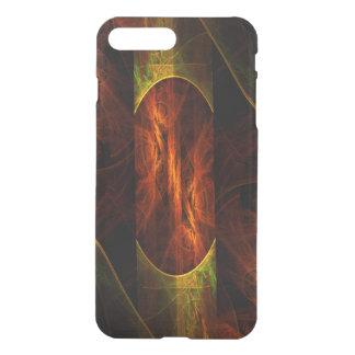 Defletor da arte abstracta da selva da mística capa iPhone 7 plus
