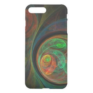 Defletor verde da arte abstracta do renascimento capa iPhone 7 plus