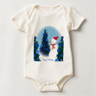 Deixais lhe para nevar criança do Tshirt do bebê o