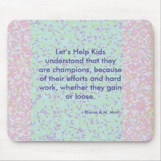Deixe-nos ajudar miúdos Mousepad