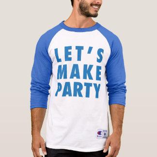 Deixe-nos fazer para party o/a/miúdos camisetas