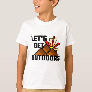 Deixe-nos obter fora tshirt