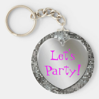 Deixe-nos Party! Chaveiro