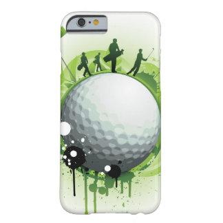 Deixe-nos Tee fora para o golfe Capa Barely There Para iPhone 6
