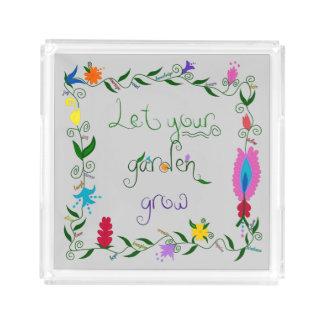 Deixe seu jardim crescer colorido