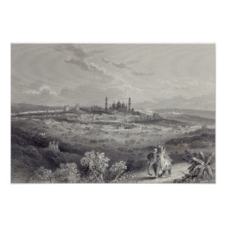 Deli, gravada por Edward Paxman Brandard Impressão