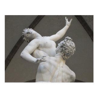 Della Signoria da praça, cartão de Florença, Cartão Postal