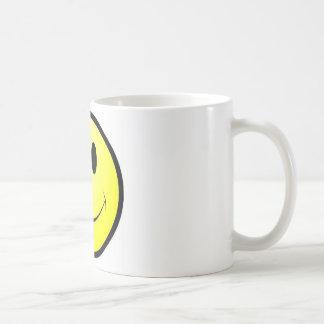 dente de fanfarrão do smiley caneca de café