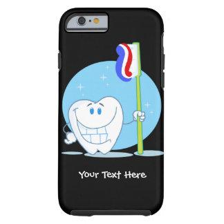 Dente do smiley (customizável) capa tough para iPhone 6