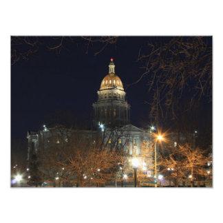Denver na noite 1 impressão de foto