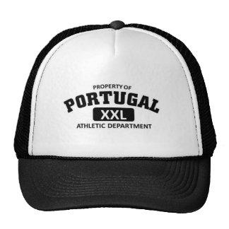 Departamento atlético de Portugal Boné