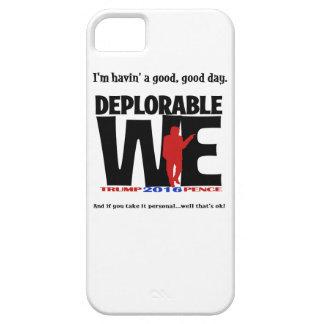 Deplorável nós capas de iphone